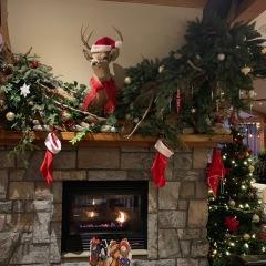 酒店圣诞壁炉